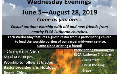 Wednesday Campfire Worship